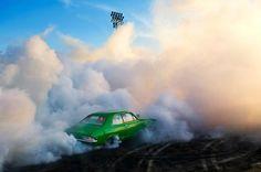 Burnouts by Simon Davidson