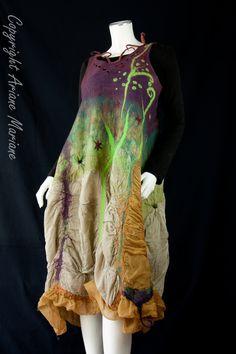 Fiber Art Dress by @ArianeMariane