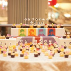 Creative Cupcake Display