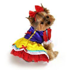 RadioFence.com - Enchanted Snow Princess Dog Costume, $29.95 (http://www.radiofence.com/enchanted-snow-princess-dog-costume/)