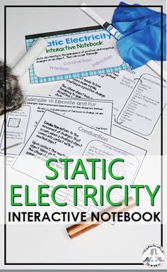 High School Classroom, Public School, Static Electricity, Science Resources, Stem Activities, Interactive Notebooks, Physics, Homeschool, Messages