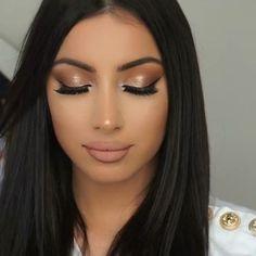 Soft glam makeup look Glam Makeup, Makeup Inspo, Bridal Makeup, Makeup Inspiration, Beauty Makeup, Eye Makeup, Hair Makeup, Hair Beauty, Makeup Ideas
