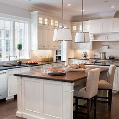 Traditional Kitchen Island Design, Pictures, Remodel, Decor and Ideas - page 3