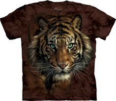 Tee shirt the mountain motif tigre - Boutique animaux félin