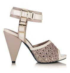 Neutral cut out heels #avonspring