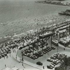 Playa del Postiguet. Año 1958-Sonia Castedo