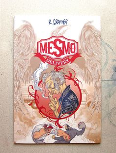 Mesmo Delivery - Rafael Grampa's punch-packing 2008 debut in a comic storytelling world that had gone slightly predictable. It's not an especially complex story, nor too long. It's how it's told that matters, and it's pretty unforgettable!