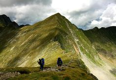 #hiking at Fagaras Mountains in #Romania