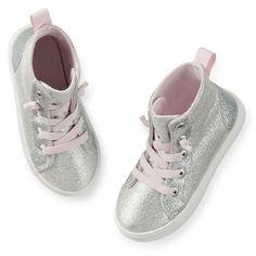 Carter's Sparkle Hightop Sneakers   Carter's