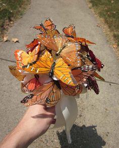 Monarch bouquet.