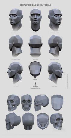 head and skull planes head and skull planes Human Anatomy Art, Head Anatomy, Body Anatomy, Drawing Heads, Drawing Poses, Life Drawing, Anatomy Sketches, Anatomy Drawing, Figure Drawing Reference