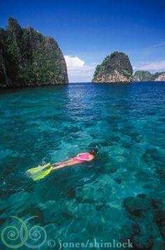 Snorkelling at Raja Ampat Islands | Indonesia
