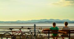The new Morecambe Bay cycle route offers a scenic, leisurely introduction to long-distance cycling – and, says our northern editor, a great excuse to gorge on the region's excellent food and drink Morecambe, Commuter Bike, Cycling Workout, East Sussex, Cumbria, Long Distance, Cycle Route, United Kingdom, Tourism
