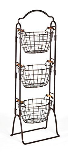 Gourmet Basics by Mikasa Harbor 3-Tier Wire Market Basket... https://www.amazon.com/dp/B01JOWSXFI/ref=cm_sw_r_pi_dp_x_E5m4ybBCBCP2T