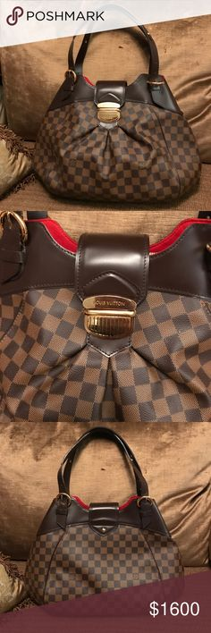 Louis Vuitton Shoulder Bag Louis Vuitton Shoulder Bag in Damier Ebene Canvas leather. Louis Vuitton Bags Shoulder Bags