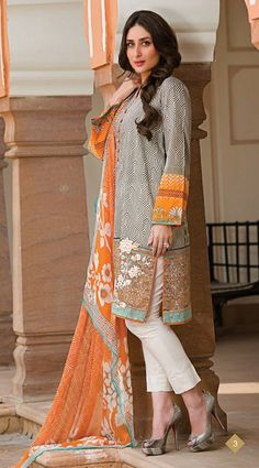 Spring Summer 2014 by The Faraz Manan. Featuring Bollywood Diva Kareena Kapoor. Out now on our eBay store - stores.eBay.com/pinkshink