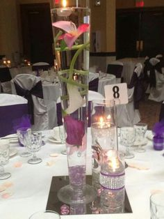 Wedding Reception's Centerpiece