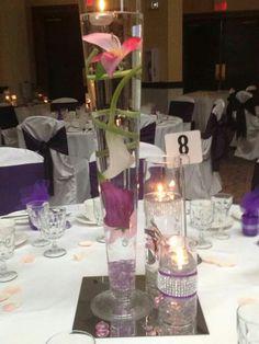 Wedding Reception's Centerpiece