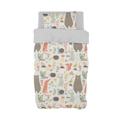 It it's a boy, a girl or a surprise, our vibrant Whimsy Woodland bedding is perfect for any animal theme Neutral Nursery!