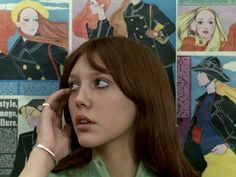 Anne Wiazemsky in Jean-Luc Godard's La Chinoise, 1967 Series Movies, Film Movie, Anne Wiazemsky, French New Wave, Jean Luc Godard, The Rocky Horror Picture Show, Movie Shots, Film Aesthetic, Film Inspiration