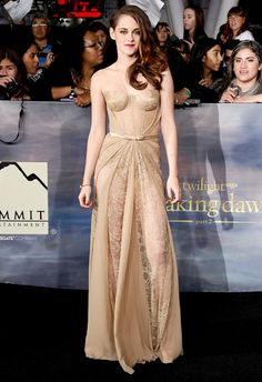 Twilight Kristen Stewart In Zuhair Murad – 'The Twilight Saga: Breaking Dawn – Part 2′ LA Premiere