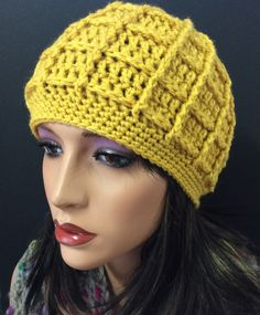 Hats, Knitting And Crocheting, Tricot, Hat