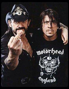 Lemmy & Dave Grohl wearing Motorhead