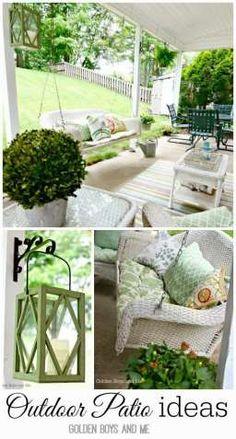 Outdoor patio ideas for spring