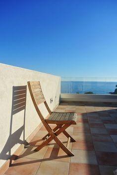 Rénovation d'une maison à Carry-le-Rouet - ACVV ARCHITECTURE - toit terrasse - garde corps en verre - vue mer