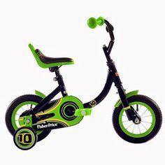 Fisher Price Boy's 10-Inch Bike Only $39   Free Shipping (Reg $89.99!)   SassyDealz.com