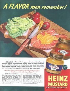 Heinz Mustard - 19440902 Post (by Jon Williamson)