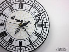 Peter Pan Big Ben Wall Clock by SolPixieDust on Etsy https://www.etsy.com/listing/236950159/peter-pan-big-ben-wall-clock