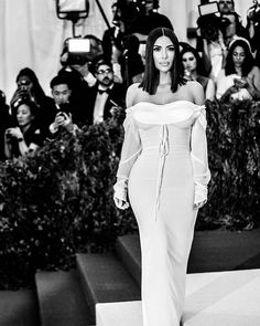 @KimKardashian wore an uncharacteristically demure @viviennewestwoodofficial gown at the 2017 #MetGala. Photo by @benedict_evans.  via W MAGAZINE OFFICIAL INSTAGRAM - Celebrity  Fashion  Haute Couture  Advertising  Culture  Beauty  Editorial Photography  Magazine Covers  Supermodels  Runway Models