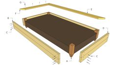 Diy Raised Garden Beds Plans Raised Bed Plans Free Outdoor Plans DIY Shed Wooden Playhouse Raised Dog Beds, Raised Garden Bed Plans, Building Raised Garden Beds, Wood Dog Bed, Diy Dog Bed, Luxury Pet Beds, Wooden Dog Kennels, Diy Shed, Creations