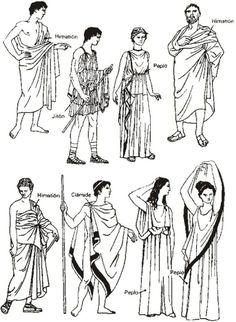 Ancient greek clothing Eye Makeup eye makeup look Ancient Greek Costumes, Ancient Greek Clothing, Greek History, Ancient History, Art History, European History, American History, Ancient Greece Fashion, Greece Costume