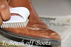 how to remove salt stains from leather boots, remove salt stains, how to clean boots,