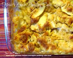 Try+this+apple+pudding+cake+warm+from+the+oven.+Check+it+out+at+http://www.quick-german-recipes.com/apple-pudding-cake.html