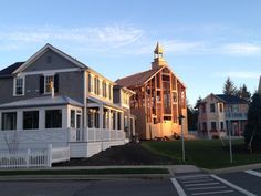 Currently under construction, Seabrook Town Hall will be complete July 2013! This will be home to Seabrook weddings and receptions, we are so excited!