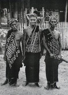 Flores village elders.