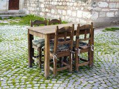 Muebles rústicos para exteriores