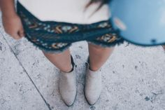 look of the day denim