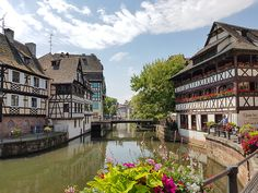 Just a stones throw over the German border and into France sits Strasbourg. It's the...