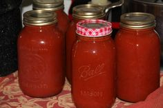 Step By Step Makin Tomato Sauce. Great time-saving tips when processing tomatoes.