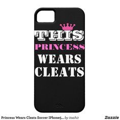Princess Wears Cleats Soccer IPhone5S/5 Case Case For iPhone 5/5S