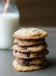 Small batch: chocolate chip cookies
