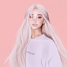 No tears left to cry Ariana Grande Ariana Grande Anime, Ariana Grande Drawings, Ariana Grande Fans, Ariana Grande Wallpaper, Ariana Grande Photos, Digital Art Girl, Digital Portrait, Celebrity Drawings, Anime Art Girl