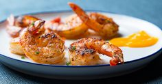 These shrimp get tossed with chipotle and garlic, making for a quick, smoky-sweet dish.