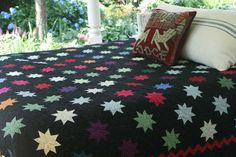 Judi Boisson handmade quilts -- 8 Point Twinkle Star handmade quilts embrace the magic of the heavens Quilt Block Patterns, Pattern Blocks, Quilt Blocks, Amish Quilts, Star Quilts, Twinkle Star, Twinkle Twinkle, Quilting Tips, Quilting Designs