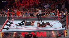 #WWE: Resultados de Monday Night Raw 17 de abril de 2017