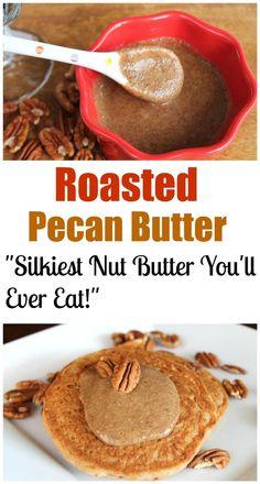 Ingredient Roasted Pecan Butter | http://TheVegan8.com | #vegan # ...